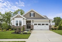 Clearwater exterior, Drees Homes, Cincinnati and Northern Kentucky