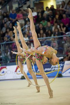 Rhythmic Gymnastics by Ohad Redlich, via 500px