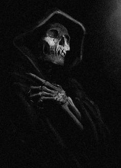 ᙢy dark Ꮚorld of Skulls and dark art -'Everyday' is Death in small doses ~No Porn or gore~ Grim Reaper Art, Don't Fear The Reaper, Death Reaper, Arte Horror, Horror Art, Real Horror, Dark Fantasy Art, Dark Art, Pinterest Arte