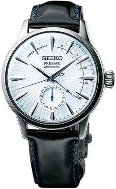 @seikowatches Presage Cocktail Automatic #add-content #basel-17 #bezel-fixed #bracelet-strap-leather -presage #case-depth-14-5mm #case-material-steel #case-width-40-5mm #date-yes #delivery-timescale-call-us #dial-colour-white #gender-mens #limited-code #luxury #movement-automatic #new-product-yes #official-stockist-for-seiko-presage-watches #packaging-seiko-presage-watch-packaging #power-reserve-yes #price-on-application #style-dress #subcat-presage #supplier-model-no-ssa343 #warra...