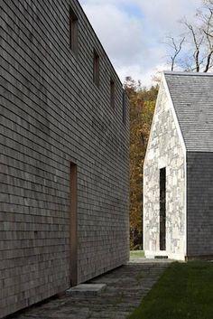 Rick Joy Woodstock Shingle Roof House   Gardenista