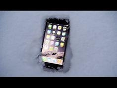 Iphone 6 nella neve per un giorno: ecco com'è andata a finire (VIDEO)