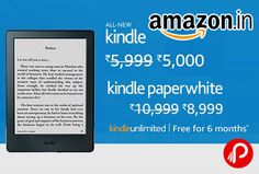 amazon is offering discount on kindle amazon devices also providing free