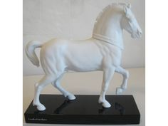 Vintage Rosenthal Classic Rose Cavallo di San Marco Porcelain Horse Figurine