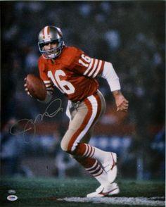 Joe Montana Autographed 16x20 Photo - PSA/DNA #SportsMemorabilia #SanFrancisco49ers