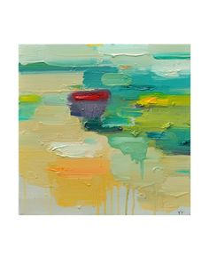 Abstract Painting Oil Painting Fine Art Print Giclee by siiso - entryway