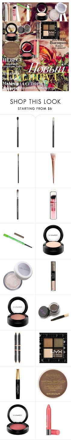 """Amanda Seyfried Makeup Tutorial"" by oroartye-1 on Polyvore featuring beauty, MAC Cosmetics, Sigma, W3LL People, Revlon, Nudestix, NYX, L'Oréal Paris, Rimmel and Bourjois"
