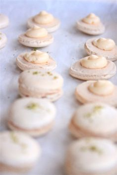 Grapefruit French Macarons | Fête