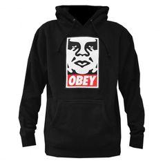 OBEY Icon Face sweat à capuche heather grey - black 75€ #obey #sweatcapuche #hoodie #hoody #hoodies #fleece #skate #skateboard #skateboarding #streetshop #skateshop @PLAY Skateshop