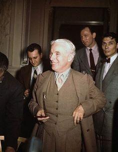 Monsieur Verdoux press conference, Gotham Hotel, NYC, April 12th, 1947