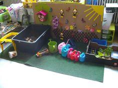 Themahoek bloemen Preschool Garden, Parts Of A Flower, Poker Table, Spring Time, Classroom, Kids Rugs, Activities, Flowers, Home Decor