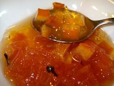 Pumpkin Preserves Pumpkin Jelly, Pumpkin Jam, Preserving Pumpkins, Preserving Food, Old Recipes, Canning Recipes, Marmalade Recipe, Cooking Pumpkin