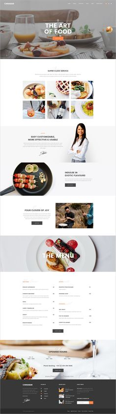 Cinnabar is a beautifully design premium #Photoshop template for multipurpose #cafe website with 15 perfectly layered PSD pages download now➯ https://themeforest.net/item/cinnabar-multipurpose-psd-template/17101311?ref=Datasata