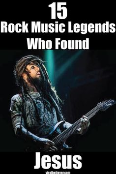 Read about !5 rock music legends whose lives were changed by an experience with Jesus in this pictorial slideshow.