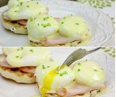 Eggs Benedict Eggs Benedict Recipe, Breakfast, Recipes, Food, Morning Coffee, Recipies, Essen, Meals, Ripped Recipes