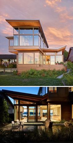With its unique climate and landscape, it makes sense that the Pacific Northwest would have a distinct style of architecture. Wood siding that carries on from where concrete foundation slabs end, ...
