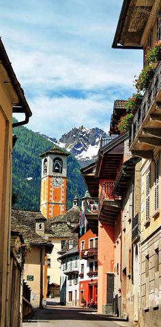 Vanzone con San Carlo, Piemonte, Italy, province of verbano Cusio ossola