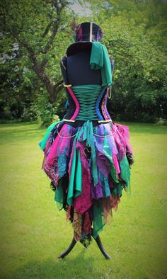 Hand Made Female Mad Hatter Costume. by FaerieInTheFoxglove