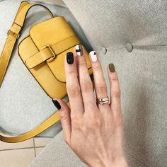 Модный маникюр осень 2018-2019 года – 100 фото-новинок осеннего маникюра, тенденции, фото