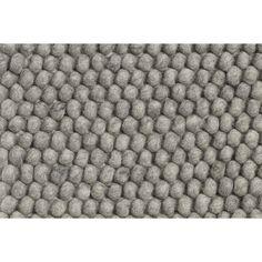 Peas teppe, medium grey i gruppen Tekstil / Tepper / Ull hos ROOM21.no (1027126r)