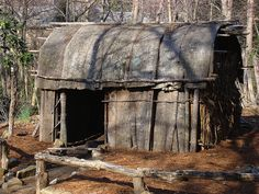 native american bark hut by zen, via Flickr