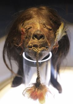pic of a shrunken head at ripley's believe it or not museum, morbid curiosity