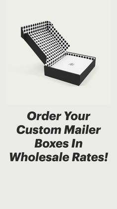 Custom Mailer Boxes, Subscription Boxes, Retail Packaging, 3d Printing, Impression 3d, Budget Binder