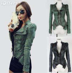 Sarco Fashions Womens Genuine Lambskin Leather Tan Moto Jacket Biker Style Assymetric Zip
