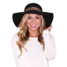 Perfectly Glam Hat in Navy