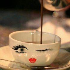 Um café para manter-se acordada.