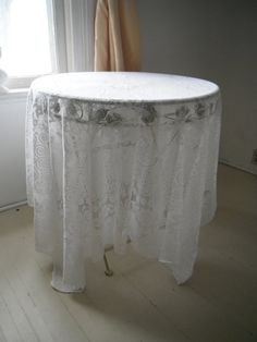 white lace rectangular tablecloth shabby chic white lace tablecloth vintage wedding decor French country cottage decor