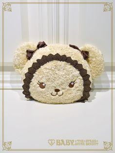 Baby, the Stars Shine Bright: Kuma Kumya-chan face Bag in milk tea