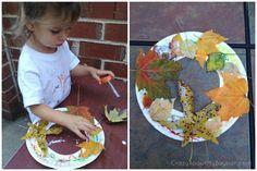 Leaf Wreath Craft