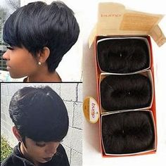 Image result for 27 Piece Quick Weave Short Hairstyle