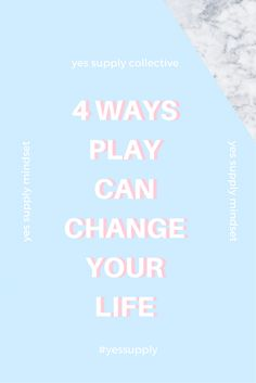 There are ways that play can change your life. Being a positive thinker can change your life forever. Learn Ways Creativity Can Completely Change Your Life. Here are some ways that play can change your day. How to Dramatically Change Your Life. Learn how to change your life completely. Find out how here at yessupply.co. This article breaks down 4 ways play can change your life. Learn how to focus on the now and manage stress. Be sure to come back for more tips and tricks here at…