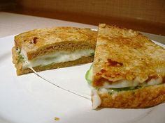 Zucchini Grilled Cheese 4 by The College Baker, via Flickr