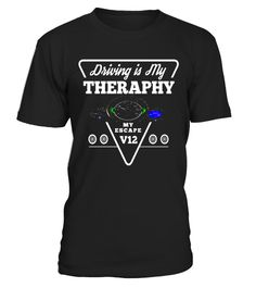 """# Driving is My Theraphy My Escape T-shirt - Car tee white ver .  Special Offer, not available in shops      Comes in a variety of styles and colours      Buy yours now before it is too late!      Secured payment via Visa / Mastercard / Amex / PayPal      How to place an order            Choose the model from the drop-down menu      Click on """"Buy it now""""      Choose the size and the quantity      Add your delivery address and bank details      And that's it!      Tags: Great T-shirt / gift…"""