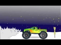 Days of Week Song with Monster Truck / Monster Truck For Children by JeannetChannel
