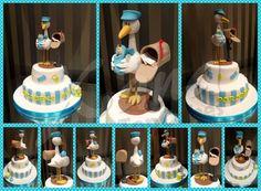 Stork Cake for baby shower