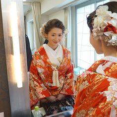 @ceu0116のInstagram写真をチェック • いいね!918件 Japanese Kimono, Sari, Hairstyle, Instagram, Weddings, Fashion, Valentines Day Weddings, Saree, Hair Job