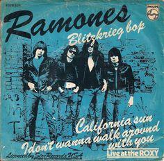 "Ramones - Blitzkrieg bop [1976, Philips 6078 504│Netherlands] - 7""/45 vinyl record"