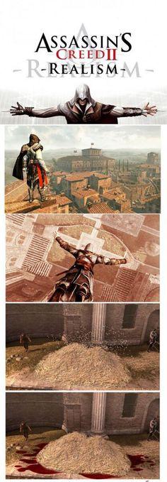Et si Assassin's Creed était réaliste ?