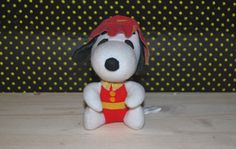 Snoopy pompiere, on sell now on etsy  https://www.etsy.com/listing/195762060/snoopy-pompiere-vintage-toy?ref=pr_shop