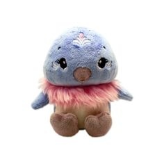 Pink Chillies Asha Plush 14cm Blue Adelie Penguin Beanie Toy - 10% of her profit goes to UK Youth Climate Coalition