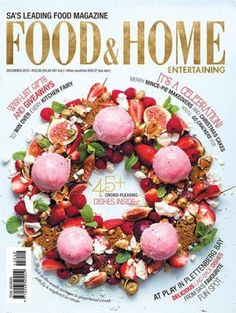 #MagLove 13 November 2015 — the best magazine covers this week — Food & Home Entertaining, December 2015.