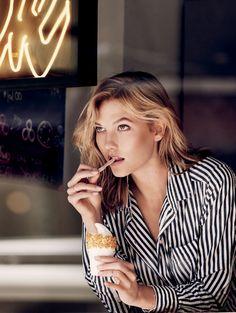 Lucky Magazine Editorial October 2014 - Karlie Kloss by Paola Kudacki