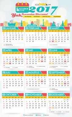 Kalender Cuti 2017 Buruan Download! - klikHotel.com