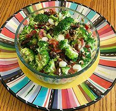 My Cousin Maxi's Broccoli Salad