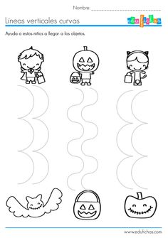 Crafts,Actvities and Worksheets for Preschool,Toddler and Kindergarten.Lots of worksheets and coloring pages. Theme Halloween, Halloween Crafts For Kids, Halloween 2018, Halloween Worksheets, Worksheets For Kids, Fine Motor Activities For Kids, Preschool Activities, Preschool Lesson Plan Template, Bricolage Halloween