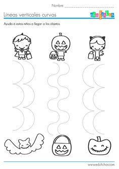 lineas curvas verticales halloween                                                                                                                                                                                 Más
